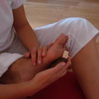 Massage pied Sophie Bertrand Lyon